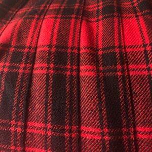 Pendleton Pleated Skirt